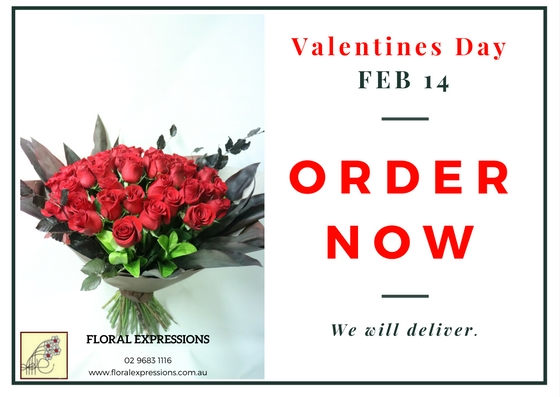 Valentines Day Floral Expressions