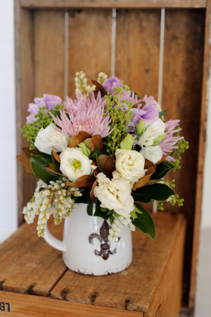 Mixed posy of flowers